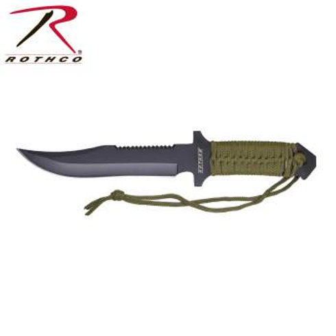 Rothco Paracord 7 Inch Knife with Fire Starter