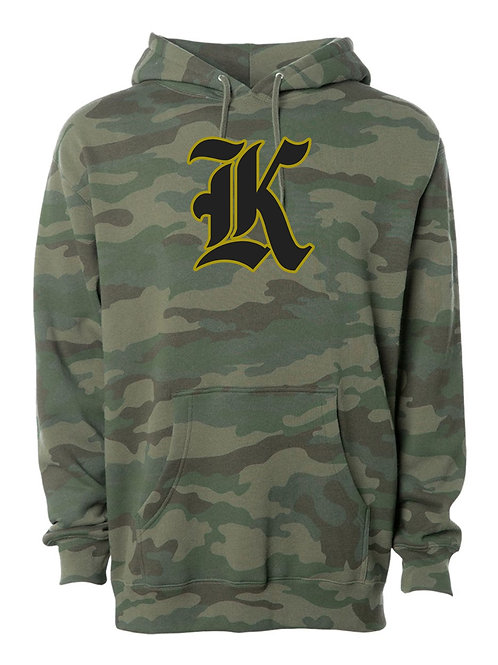 "Kuna ""K"" Hooded Heavy Sweatshirt Adult Camo"