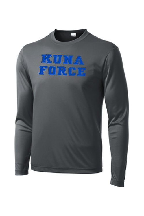 "Sport-Tek Long Sleeve Shirt ""Kuna Force"""