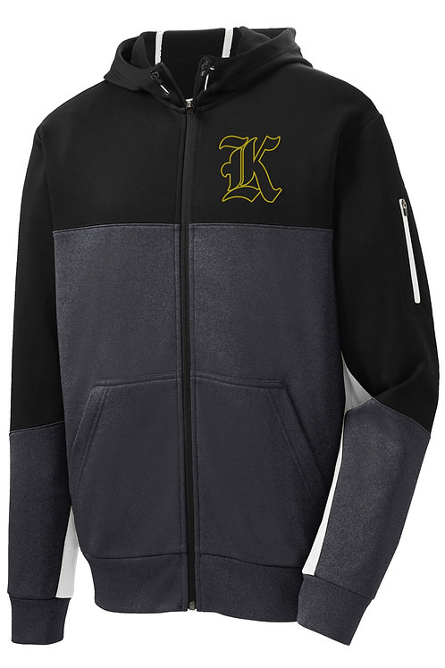 "Kuna ""K"" Full Zip Hooded Jacket Adult"