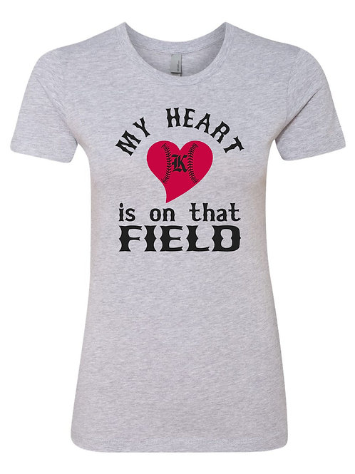 "copy of Womens Short Sleeve ""Heart"" Shirt"