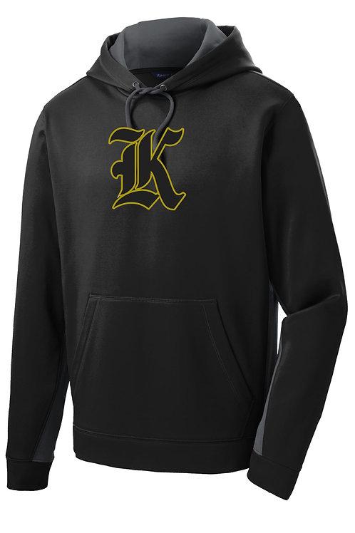 """Kuna """"K"""" Sport-Tek® Sport-Wick Hooded Sweatshirt"""