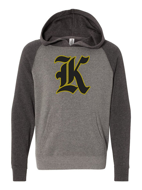 "Kuna ""K"" Lightweight Hooded Sweatshirt YOUTH"