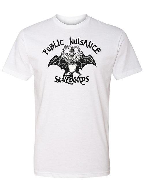 "Public Nuisance Skateboards ""Punk Bat Shirt"""