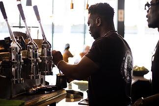 Shift Espresso bar barista