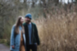 cool hipster couples engagement shoot in wirral cornfields