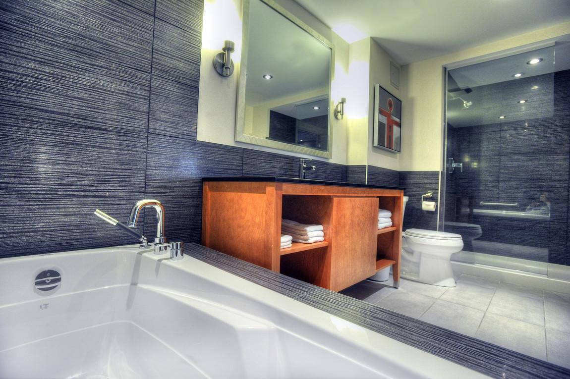 Salle de bain suite | Suite washroom