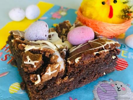 Easter Chocolate Brownies