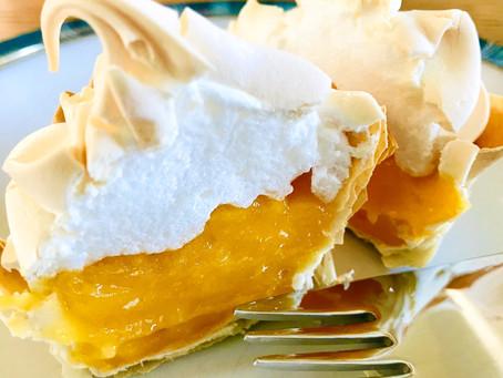 Lemon Meringue Filo Tartlets