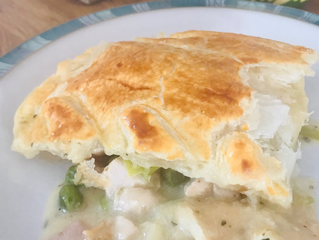 Chicken, Bacon & Leek pie