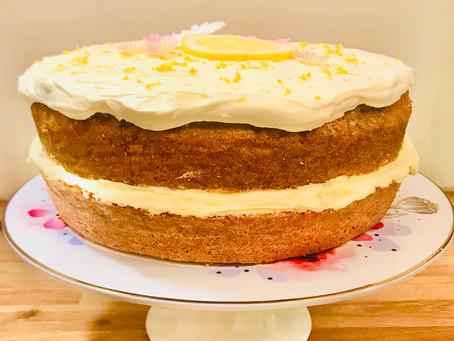 Celebration Madeira Cake With Lemon Buttercream Icing