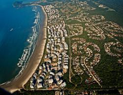 Vista panorâmica da Riviera