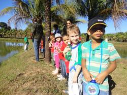 Visita de alunos escolas municipais