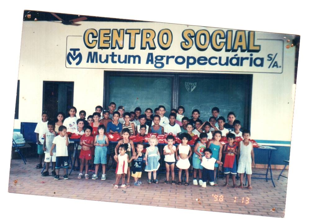 Grupo de Crianças da Fazenda Mutum