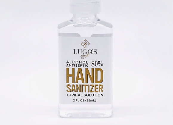 2 oz Bottles of Lugo's Craft Hand Sanitizer (8-Pack)