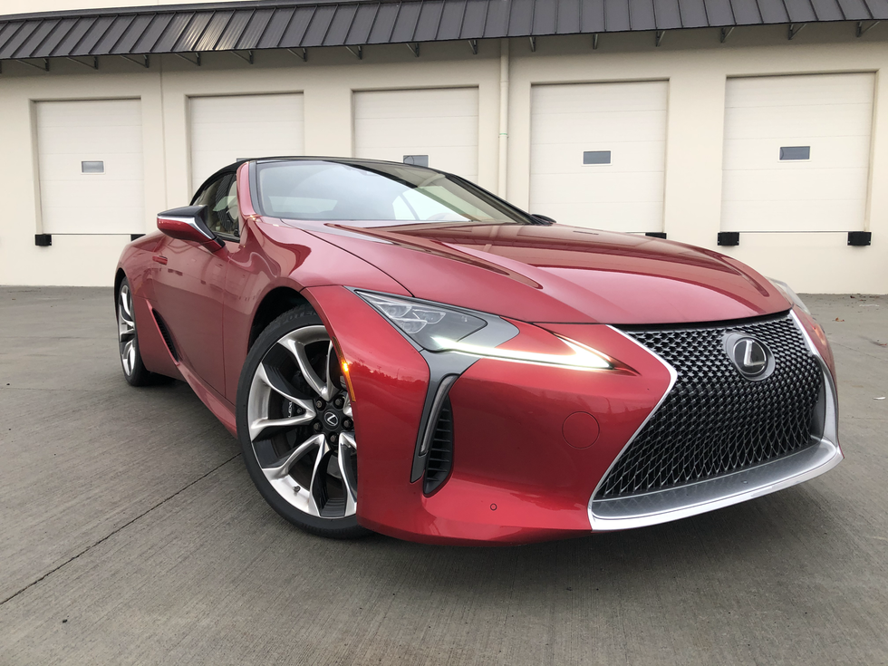 2021 Lexus LC 500 Convertible - Understated Assassin