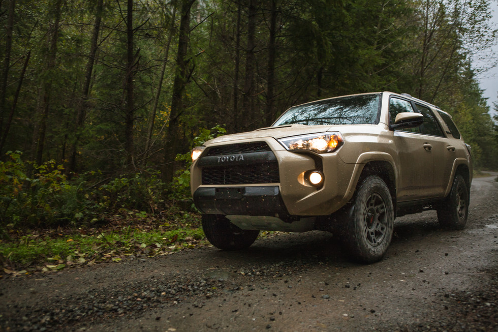 2016 Toyota 4Runner TRD Pro: We Unleash it on The Cascade Mountains!
