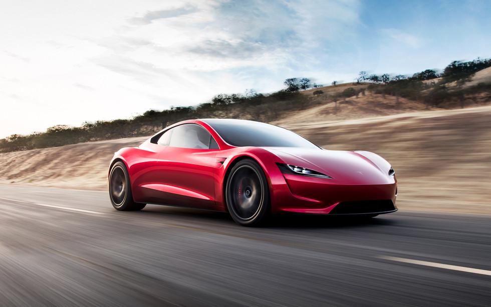 Next-Gen Tesla Roadster, 0-60 in 1.9 Seconds