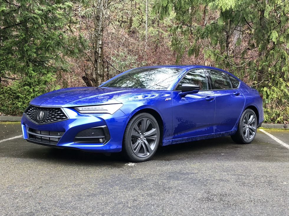 2021 Acura TLX A-Spec - If Fighter Pilots Chose Daily Drivers...