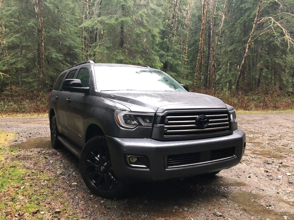 2021 Toyota Sequoia Nightshade Special Edition - The Best Kind of Brute