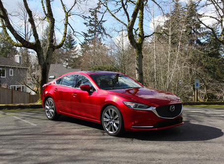 2018 Mazda6 Signature - The Definitive Class Leader