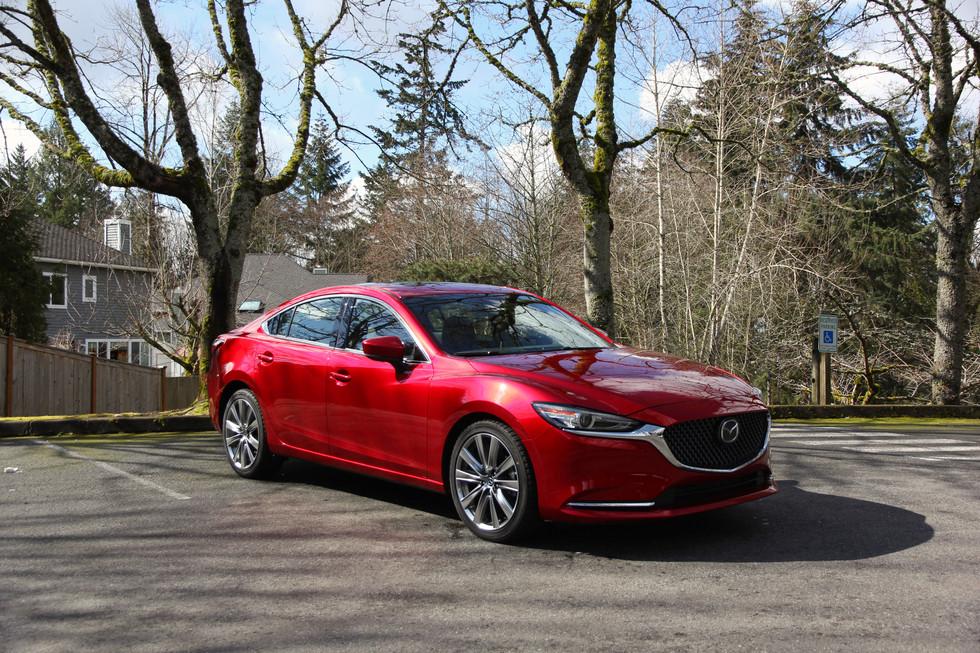 2018 Mazda6 Signature - The Definitive Class Leader