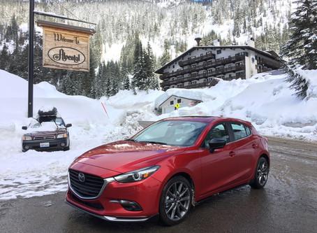 Bridgestone's Blizzak Proves Perfect Snow Shoe for Mazda's Brilliant Hatch