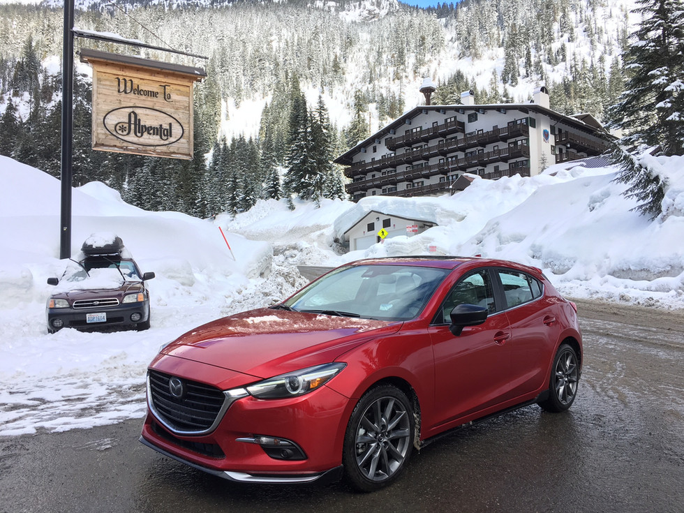 Bridgestone's Blizzak Proves Perfect Snow Shoe for Mazda's Brilliant Hatch