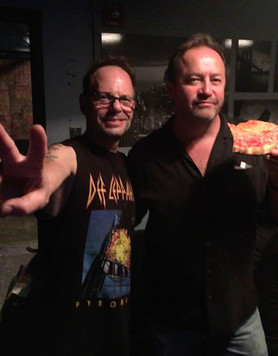With Robin Wilson of the Gin Blossoms
