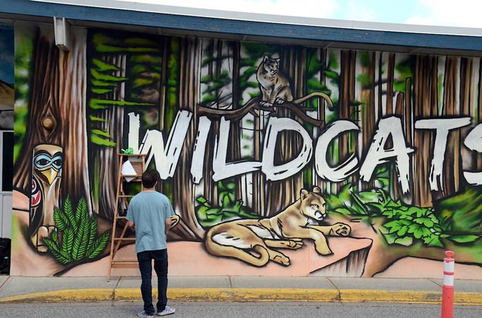 Watson Elementary Mural