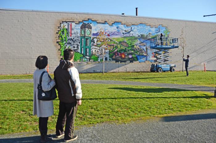 Chilliwack Five Corners Mural