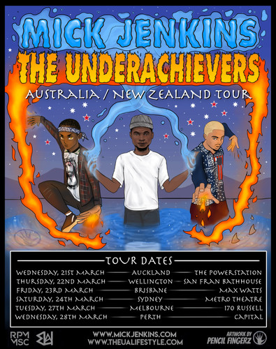 Mick Jenkins / The Underachievers Tour