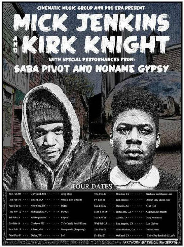 Mick Jenkins X Kirk Knight Tour