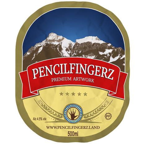 Pencil Fingerz Label