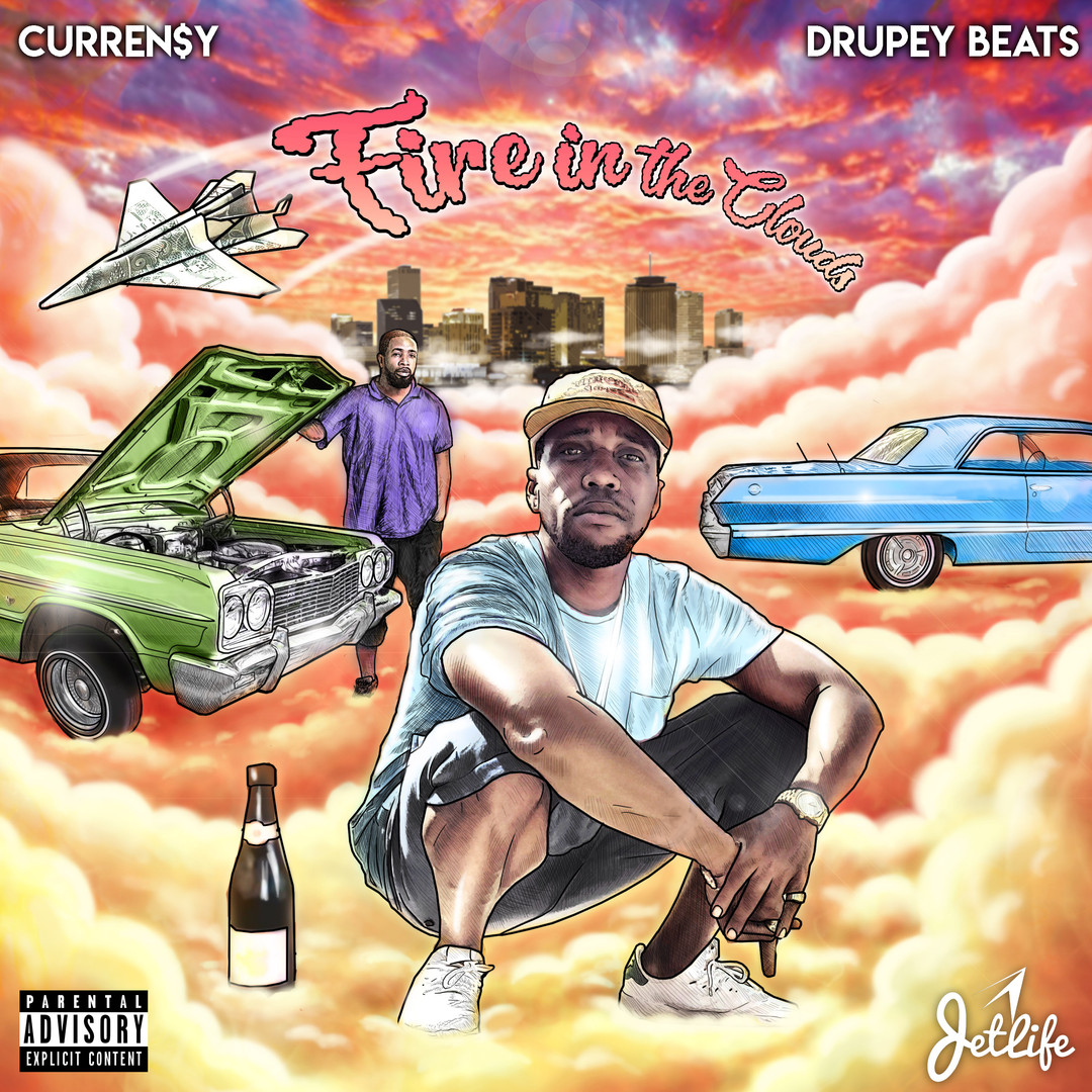 Fire in the Clouds - Curren$y