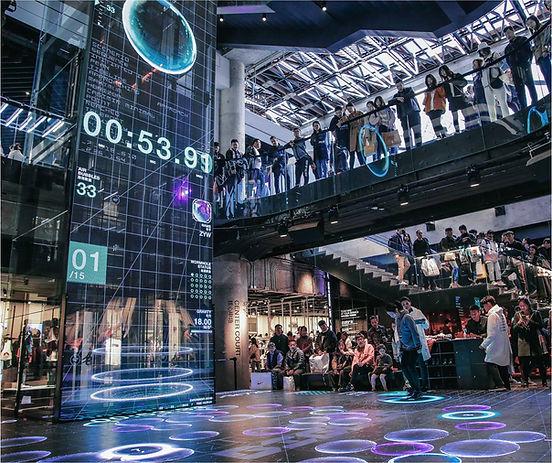 ImpactrumUSA Interactive LED Floor Displ