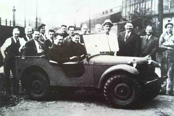 Where jeep got its orders