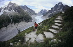 The running man crosses America