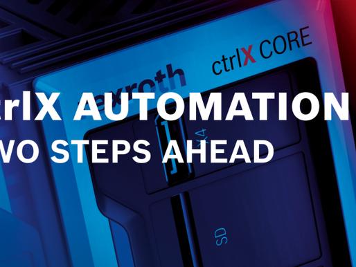 ctrlX AUTOMATION - la nuova piattaforma di automazione Bosch Rexroth