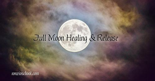 Full Moon Healing & Release
