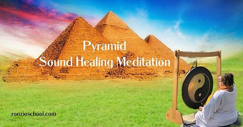 Pyramid Sound Healing Meditation