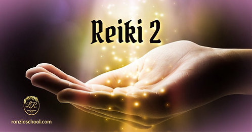 Reiki 2 Certification (July)
