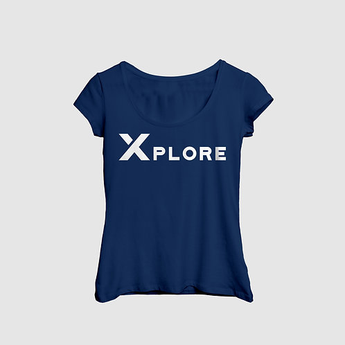 Women's Navy Lifestyle Tee