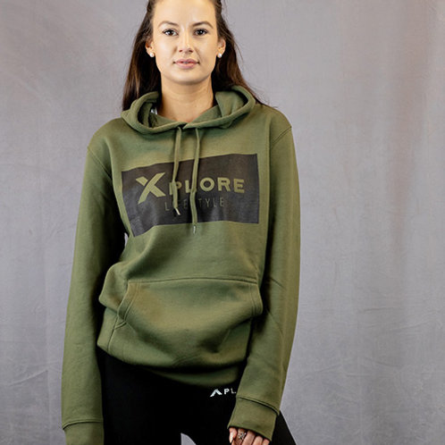 Unisex Third Edition Army Green X Lifestyle Hoodie