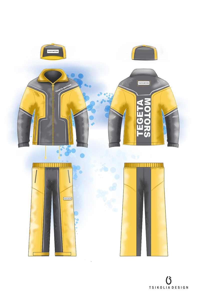 Uniform for Tegeta motors