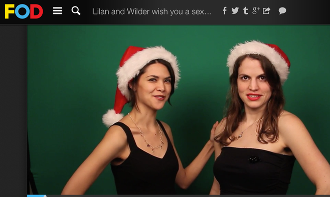 """""""Merry Sexy Christmas"""" and """"Mixology Box Social"""" featured on FoD's """"Merry Everything!"""""""