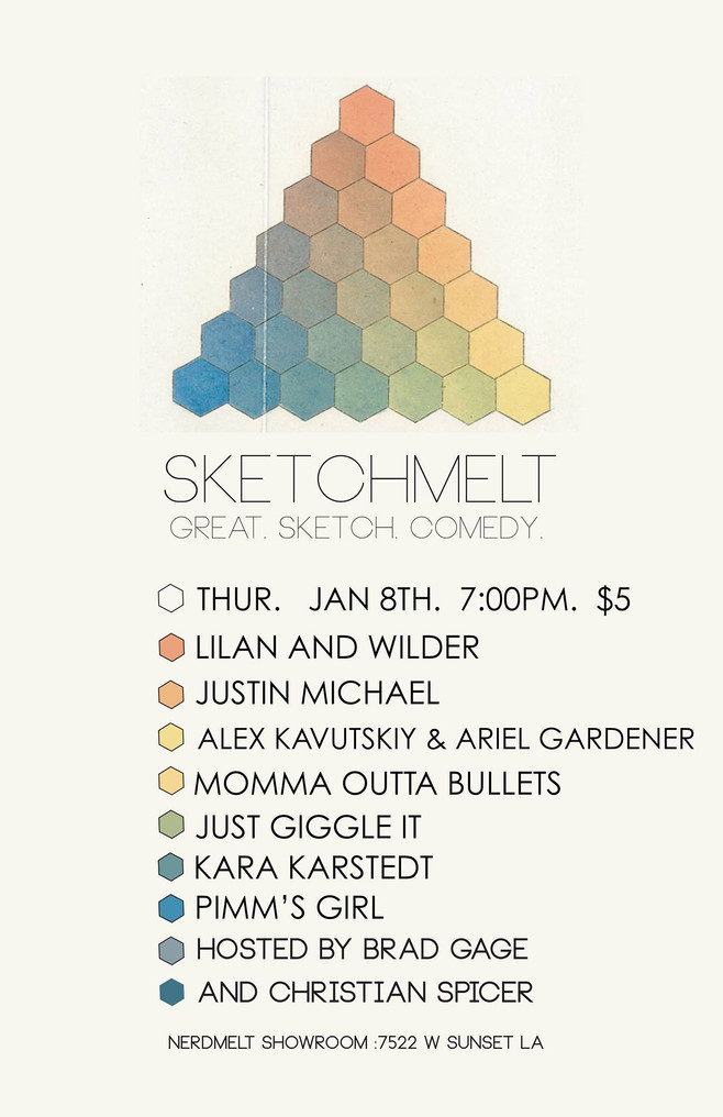 Next Sighting: SketchMelt 1/8!