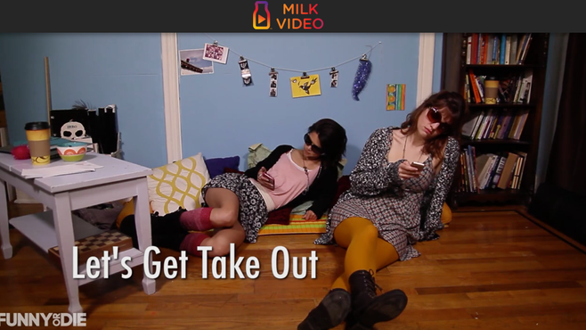 "Announcing the debut of our new web series, ""Cardigan Girls!"""