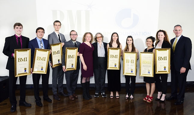 BMI Student Composer Awards 2017
