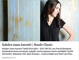 New article in Rondo